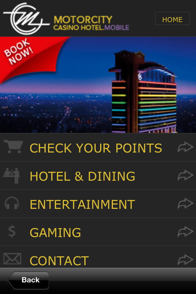 Screenshot MotorCity Casino Hotel